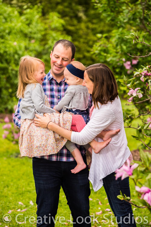 Spring UW Arboretum Family Portrait Session